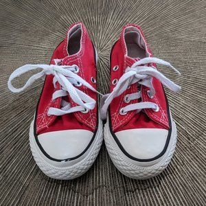 CONVERSE ALL STAR Kids Unisex Low Top Sneakers US 12 (18CM)